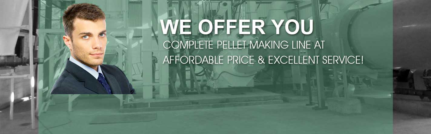 pellet mill and pellet plant supplied