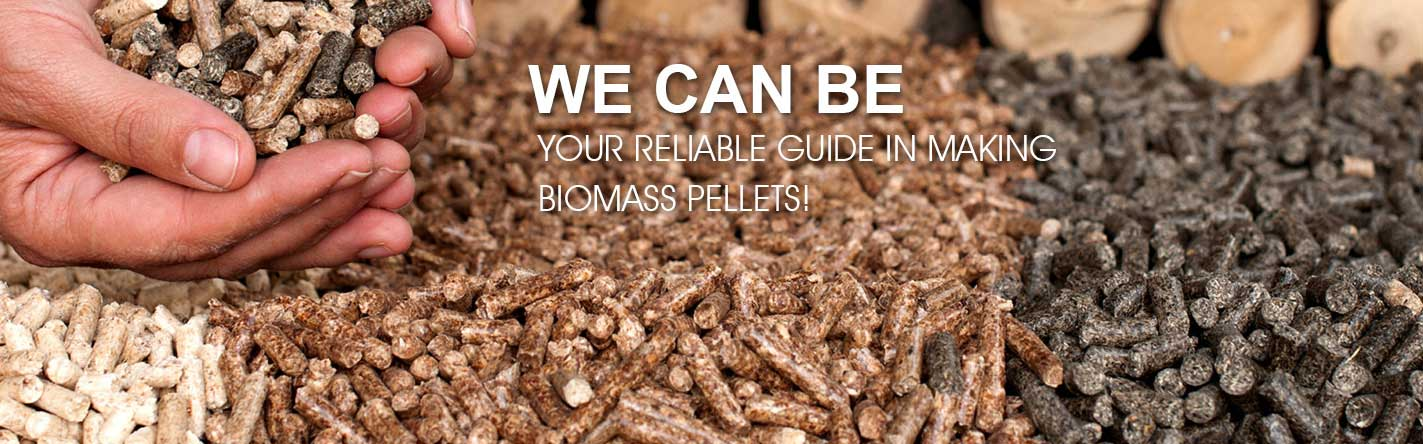 wood pellets made by GEMCO pellet mill