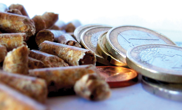 price of wood pellets