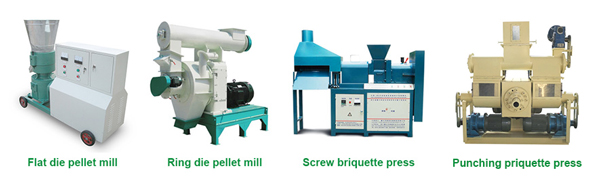 biomass molding fuel equipment