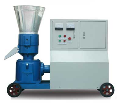flat die electric pellet mill for home use