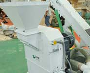 hammer mill of mobile pellet line