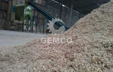 6tons/h wood pellet line in vietnam