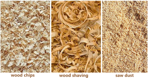 Requirement on raw materials for making wood pellets