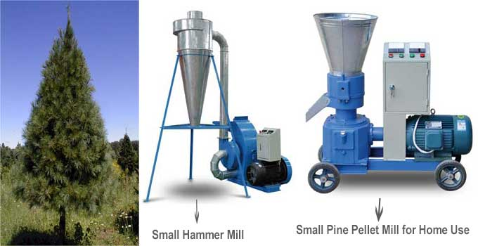 small hammer mill and small pine pellet mill for home use