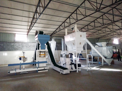 2ton/h feed pellet production line in Philippines