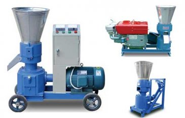Small Pellet Mills | Flat Die Wood Pellet Machine