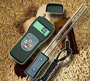 wood pellets moisture meter