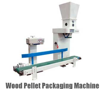 wood pellet packaging machine