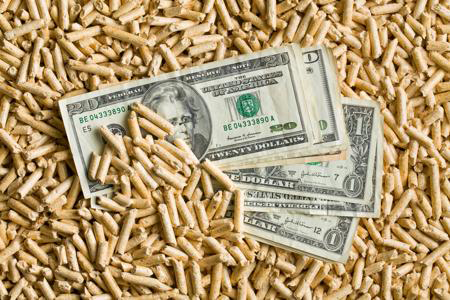 What affects the wood pellet prices?