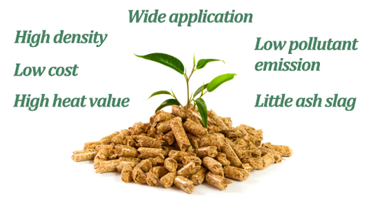 Compare biomass pellets with conventional fuels