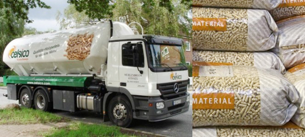 wood pellets transportation