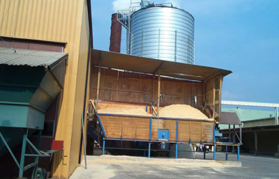Integrated sawmill and pellet production plant in Sweden